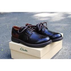 Giày tây Clarks chính hãng da bò