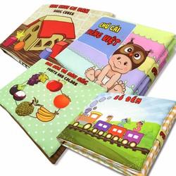 Bộ 4 sách vải Pipovietnam chủ đề học tập |...