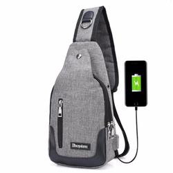 Túi Đeo Chéo USB Độc Đáo