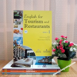 Sách English for Tourism and Restaurant Book 1