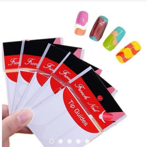 10 Bộ dán hỗ trợ vẽ móng French Nail Sticker - 5203472 , 8581388 , 15_8581388 , 22000 , 10-Bo-dan-ho-tro-ve-mong-French-Nail-Sticker-15_8581388 , sendo.vn , 10 Bộ dán hỗ trợ vẽ móng French Nail Sticker
