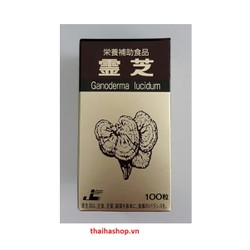 Nấm Linh Chi Ganoderma Lucidum Cao Cấp Nhật Bản 100 Viên