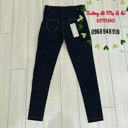 quần bầu giả jeans