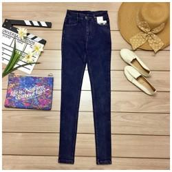 Quần skinny jeans trơn