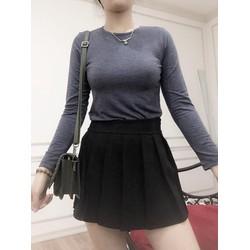 Áo thun nữ tay dài nhiều màu Cotton cao cấp