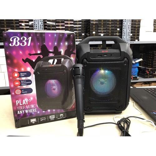 Loa Bluetooth Xách Tay B31 Cực Hay Tặng Kèm Mic hát karaoke - 10564253 , 8595736 , 15_8595736 , 780000 , Loa-Bluetooth-Xach-Tay-B31-Cuc-Hay-Tang-Kem-Mic-hat-karaoke-15_8595736 , sendo.vn , Loa Bluetooth Xách Tay B31 Cực Hay Tặng Kèm Mic hát karaoke