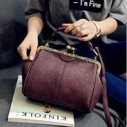 Túi xách thời trang phong cách cổ điển gam màu diệu nhẹ dễ phối đồ 102