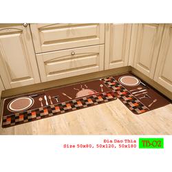 Thảm trải sàn nhà bếp