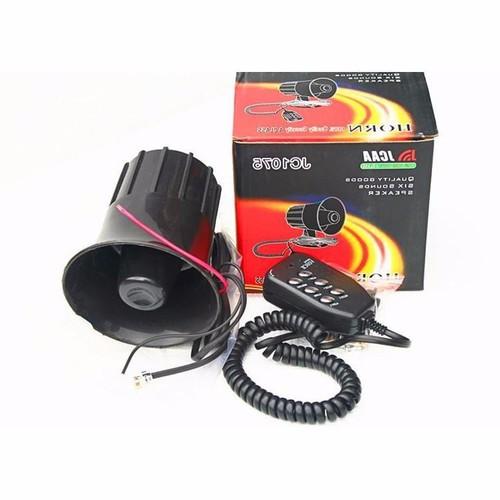 Còi hú báo động 4 âm thanh 12V  cực to