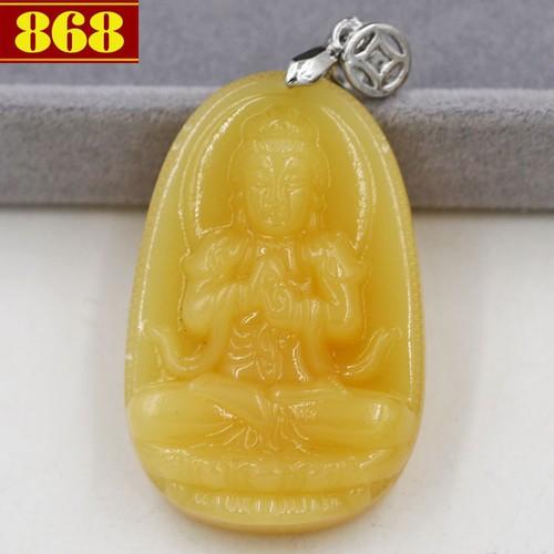 Mặt dây chuyền Phật Đại Nhật Như Lai 4.3 cm vàng