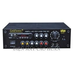 AMPLY AMPLI KARAOKE MINI DC 12V 250W CÓ USB - CALIFLOWER BX2277