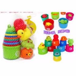 Bộ đồ chơi Xếp cốc và các các vật dưới nước