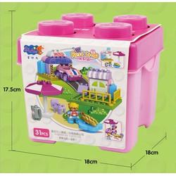 Bộ xếp hình tương thích Lego- Duplo - StaPaw 6334 - 31 chi tiết