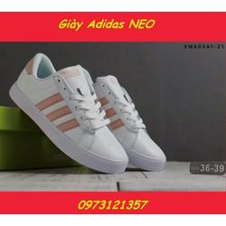 Giày Sneaker nữ Adidas đế bằng. Mã số SN1504