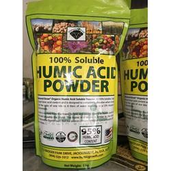 Phân Hữu Cơ Humic Acid Powder NK trực tiếp từ Mỹ 1kg