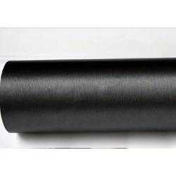 Miếng dán trang trí xe nhôm xước màu đen khổ 1.52m x 1m