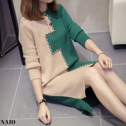 Đầm Len Style Hàn Quốc NA10_Hàng Nhập