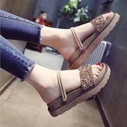 giày quai ngang kim tuyến