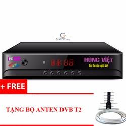 Đầu thu kỹ thuật số DVB-T2 HÙNG VIỆT HD-789s tặng Anten DVB T2