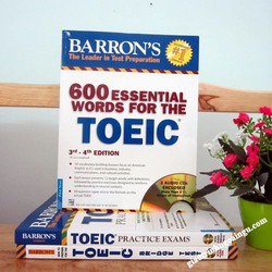 Sách 600 essential words for the Toeic 3rd-4th edition - Kèm CD