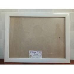 Khung ảnh treo tường màu trắng A3-30x40cm