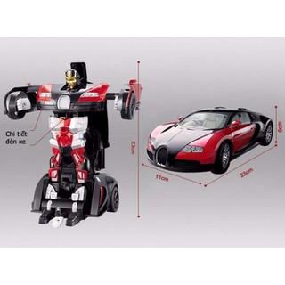 Đồ Chơi Ô Tô Biến Hình Thành Robot Mecha Ares No 8987 - ô tô biến hình 01 thumbnail