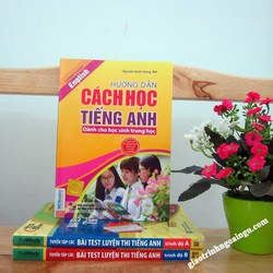 Sách Hướng dẫn cách học tiếng Anh dành cho học sinh trung học