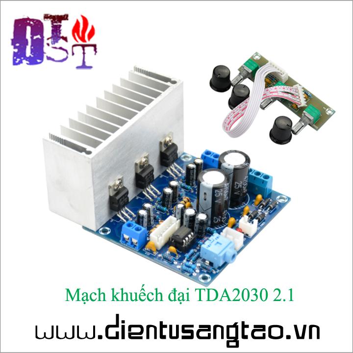 Mạch khuếch đại TDA2030 2.1 2