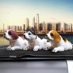 Qùa tặng trang trí độc đáo tượng chú chó lắc lư xe hơi