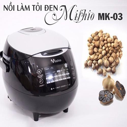 Nồi làm tỏi đen Mishio MK03 + Tặng 1 khay làm tỏi 3 tầng