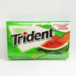 Kẹo cao su Trident vị Dưa Hấu - Mỹ