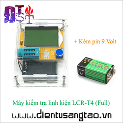 Máy kiểm tra linh kiện LCR-T4  Full bộ