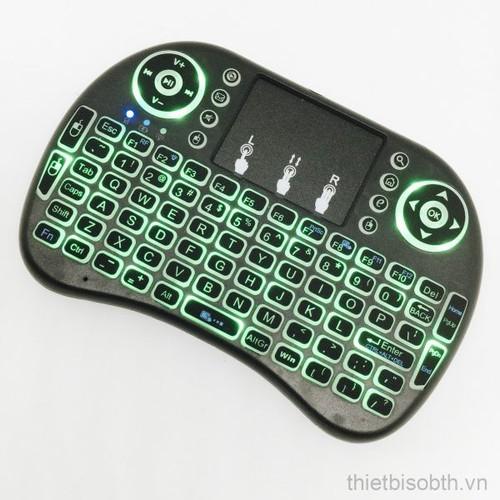 Bàn phím kiêm chuột không dây Mini Keyboard có đèn led - 10564729 , 8618319 , 15_8618319 , 190000 , Ban-phim-kiem-chuot-khong-day-Mini-Keyboard-co-den-led-15_8618319 , sendo.vn , Bàn phím kiêm chuột không dây Mini Keyboard có đèn led