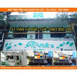 Máy tính tiền cho quán trà sữa giá rẻ tại Hà Nội