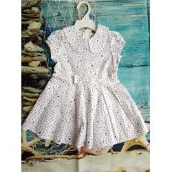 Đầm hoạ tiết xinh cho bé gái
