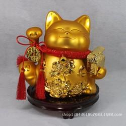 Mèo thần tài Maneki-neko vàng