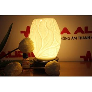 Đèn tinh dầu Hình lá trắng - BQ - 0118259