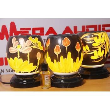Đèn tinh dầu Bom hoa màu - BQ - 0118256