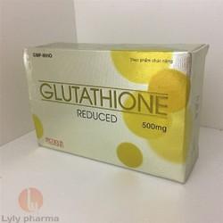 Glutathione 500mg - Viên uống giúp trắng da, chống lão hóa