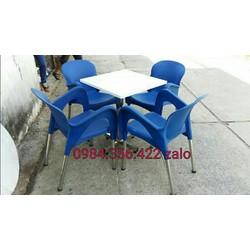 bàn ghế cafe cao cap
