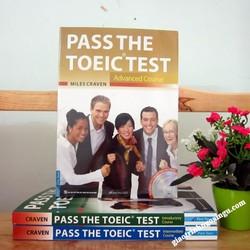 Sách Pass The Toeic test Advanced course - Kèm CD