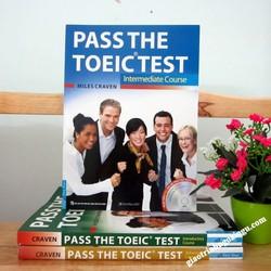 Sách Pass The Toeic test Intermediate course - Kèm CD
