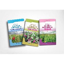 Sách Nông Nghiệp - Combo Sách kỹ thuật và chăm sóc Hoa Phong Lan