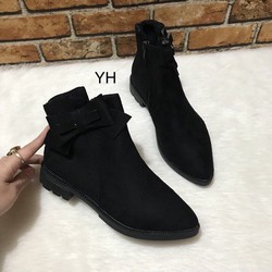 giày bốt nơ
