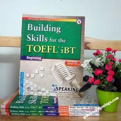 Sách Building skills for the Toefl iBT Beginning Speaking - Kèm CD