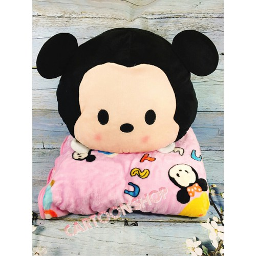 Gối mền 2 trong 1 - chuột Mickey - hàng loại 1 - 4420457 , 8618690 , 15_8618690 , 270000 , Goi-men-2-trong-1-chuot-Mickey-hang-loai-1-15_8618690 , sendo.vn , Gối mền 2 trong 1 - chuột Mickey - hàng loại 1