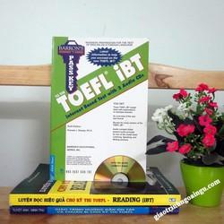 Sách Barrons passkey to the Toefl iBT - Kèm CD