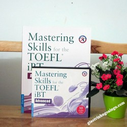 Sách Mastering skills for the Toefl iBT Advanced - Kèm CD