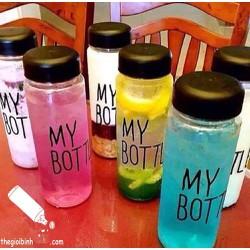 Combo 2 Bình Nước My Bottle N14 Trong Suốt