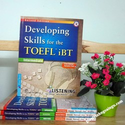 Sách Developing skills for the Toefl iBT Intermediate Listening